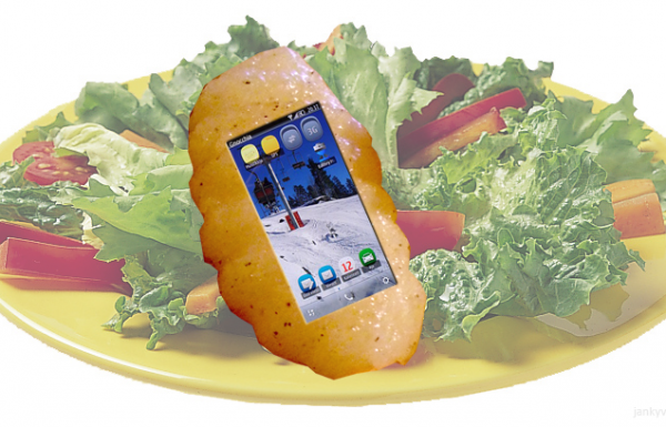 Gnocchia launches first edible smart phone