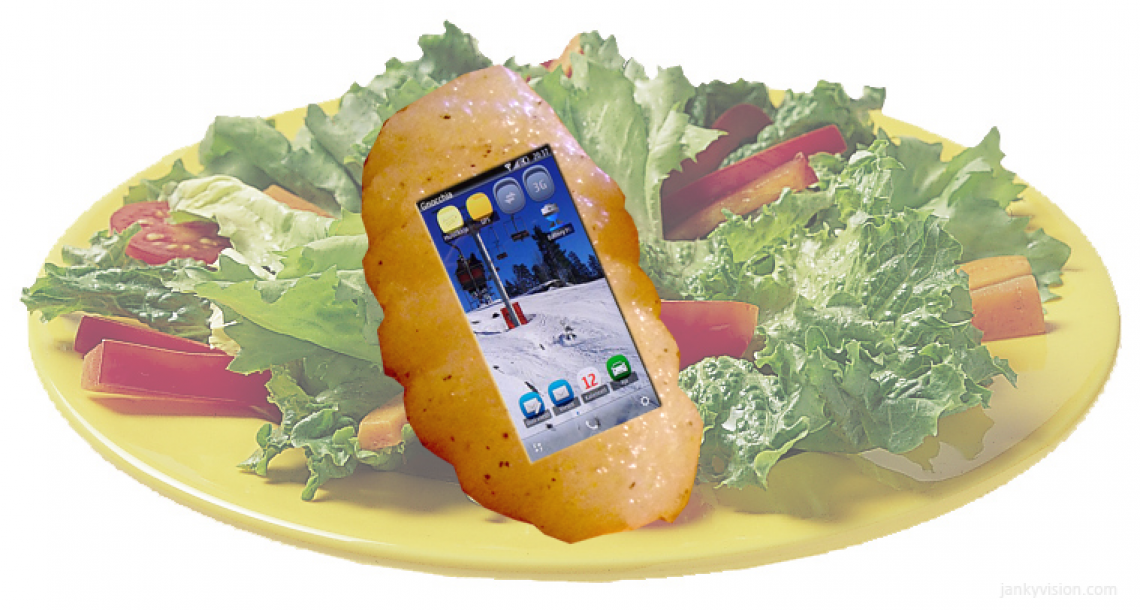Gnocchia launches first edible smart phone