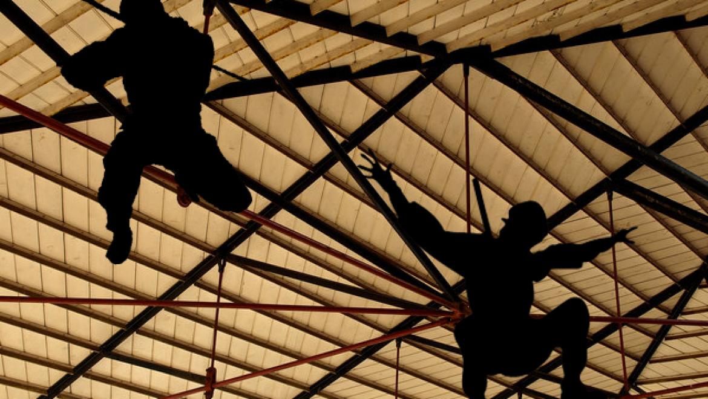 Ninja attacks decrease as more buildings omit rafters