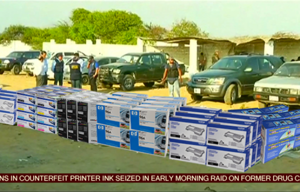 Drug cartels moving over to printer ink