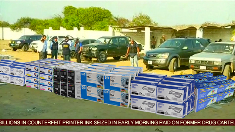 Drug cartels moving over to printer ink