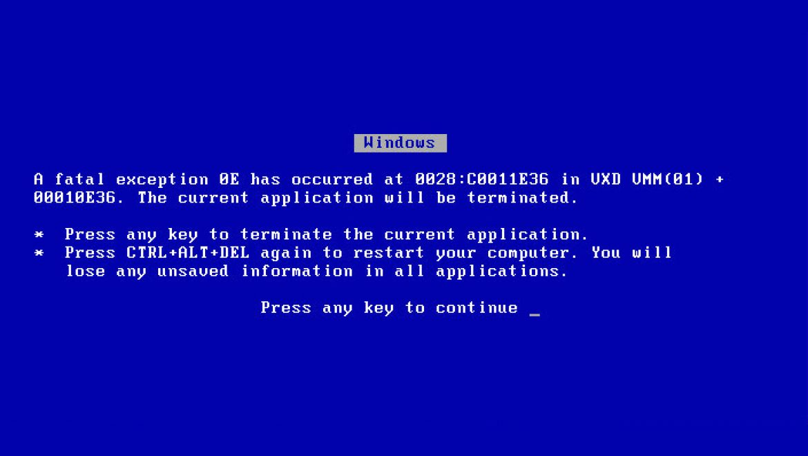 Microsoft to open source Blue Screen of Death