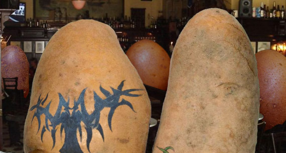 Tater Tats does ink for potatoes