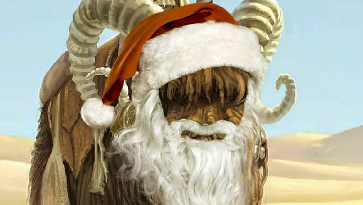 "SPOILER: Picture of Star Wars VII character ""Bantha Claus"" leaked"