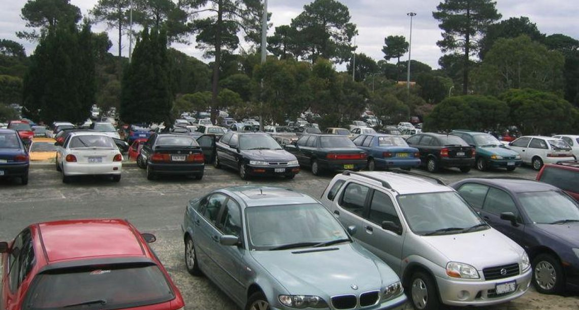 Imaginary fight erupts over parking space
