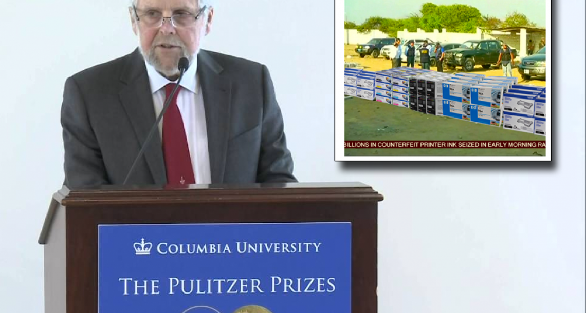 Fake news story wins Pulitzer Prize
