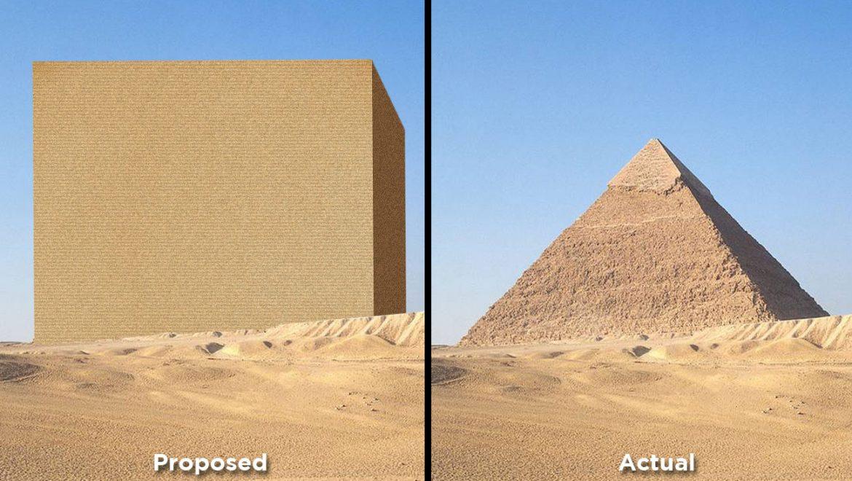 Pyramid design result of budget shortfall