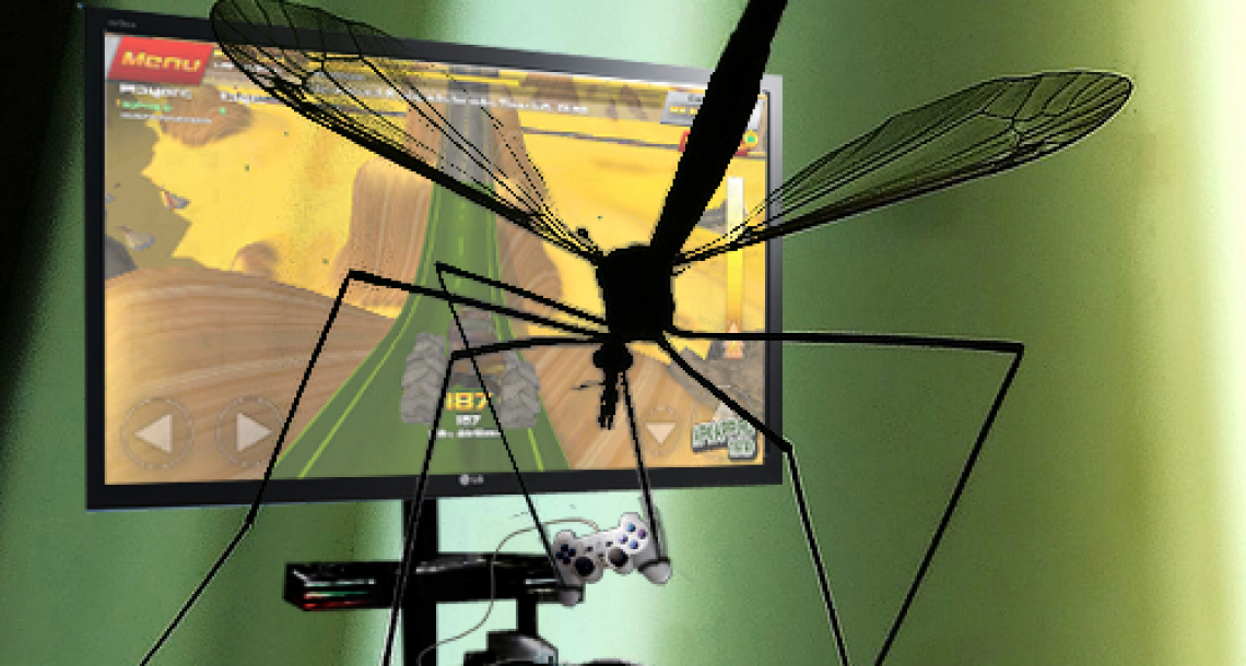 New method of mosquito control uses video games to distract males from mating