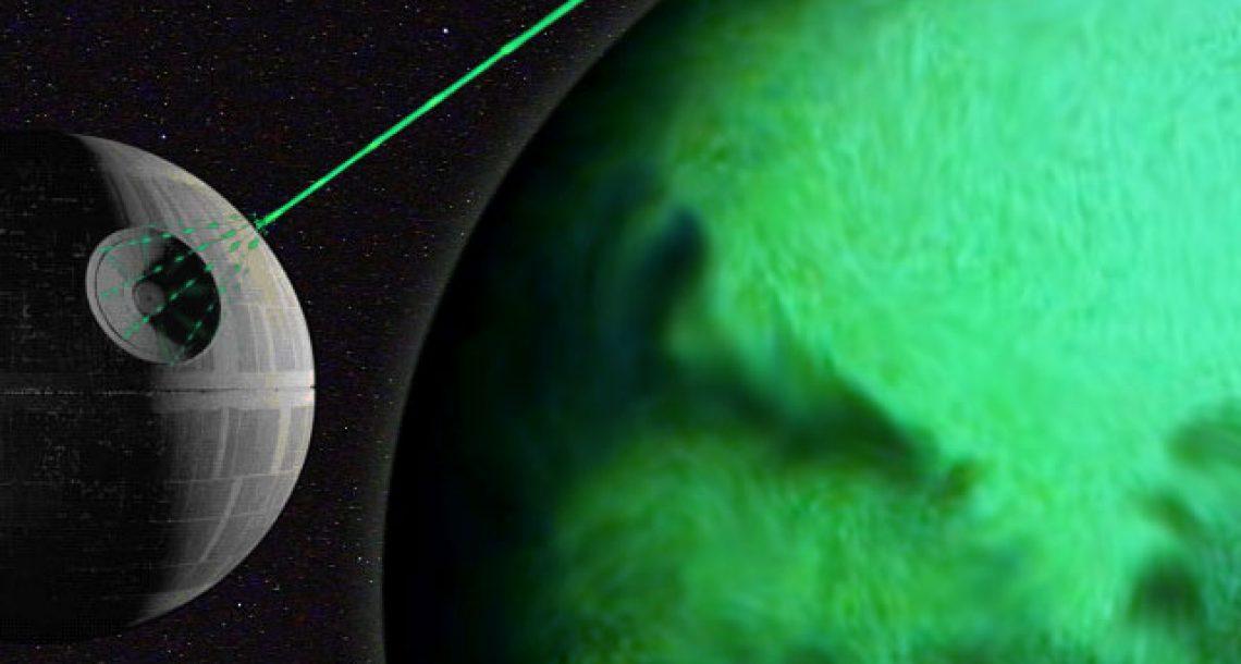 Death Star gunner fired for missing planet