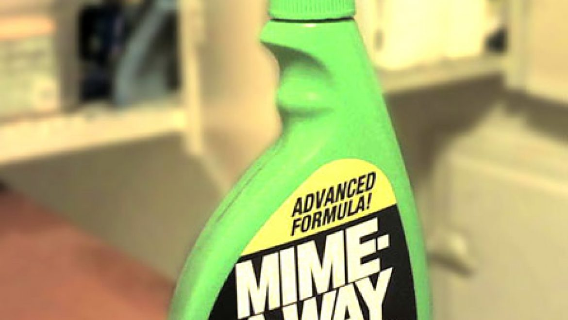 Repel silent clowns with Mime-Away