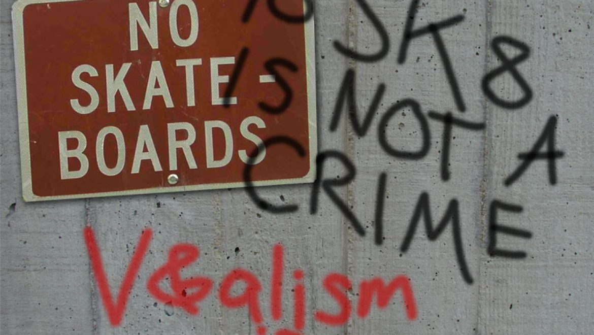 To SK8 is not a crime; V&alism is