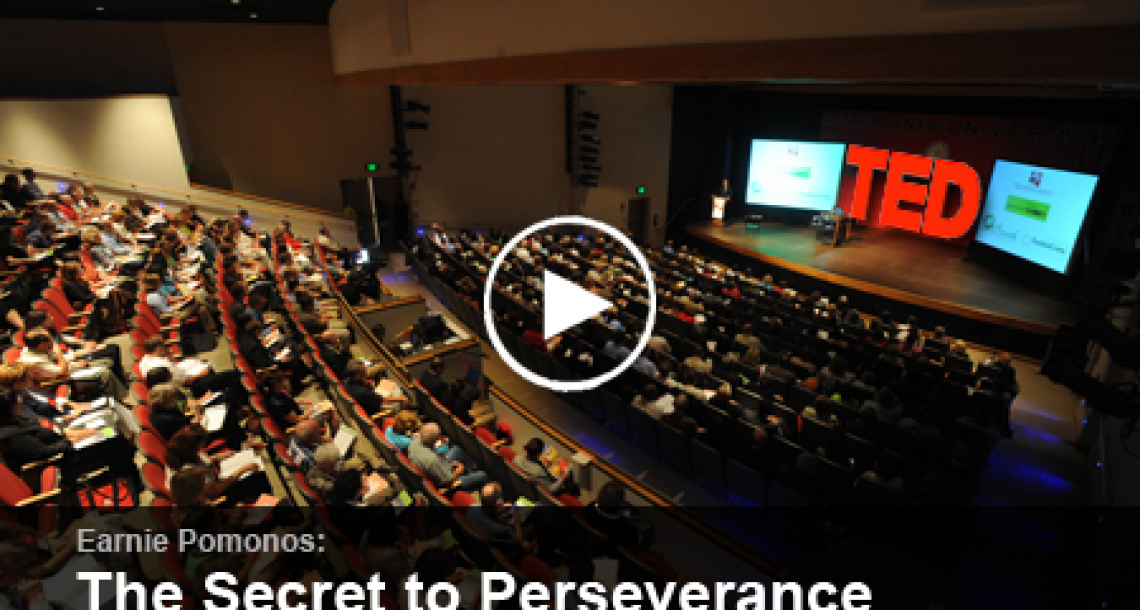 TED Talk on perseverance is like 20 minutes long