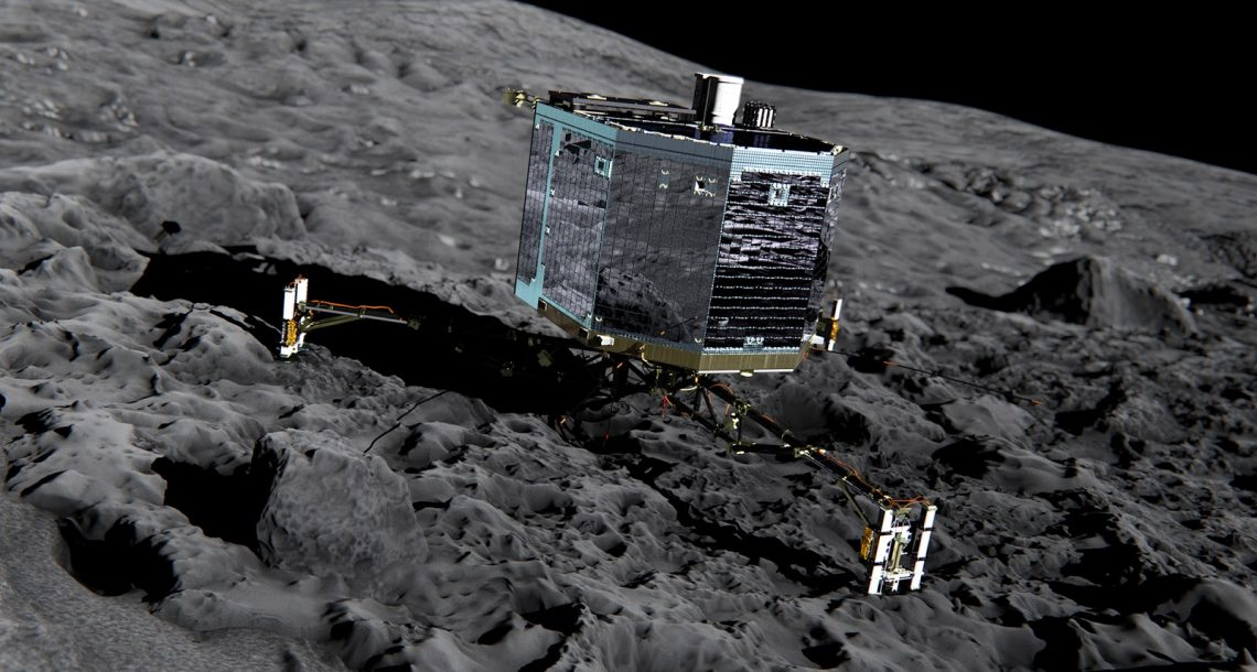 Philae Comet lander wakes up, hits snooze