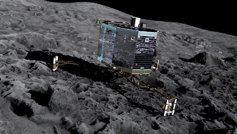 Philae Comet lander wakes up, hits snooze
