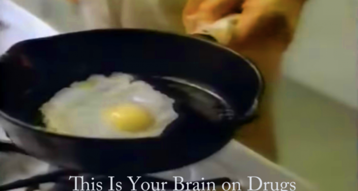 1987: Anti-drug PSA makes Generation X hungry