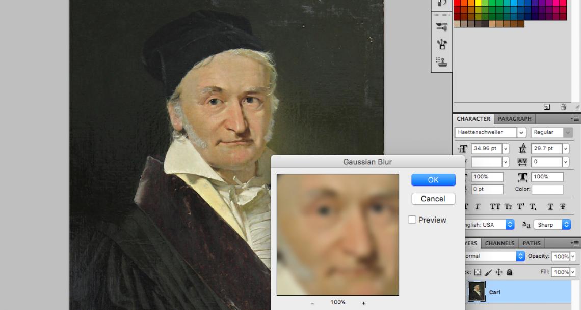Happy Birthday Carl Friedrich Gauss!