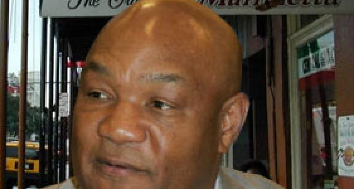 """George Foreman to deli: """"I'm not going to pay a lot for this muffuletta"""""""