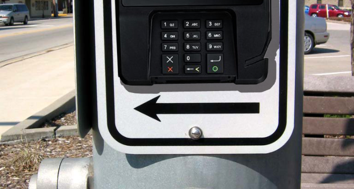 Crosswalk buttons now accepting credit cards