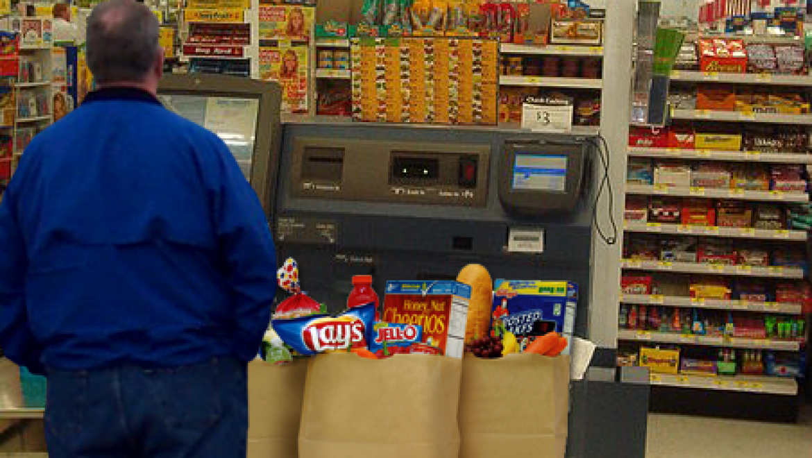 Customer manages to irritate automated self-checkout register
