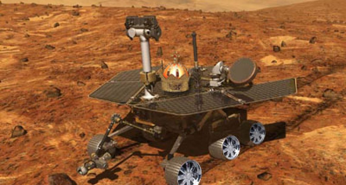 Mars Rover fitted with new rims