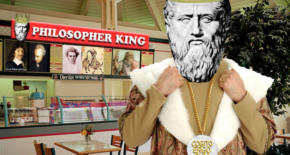 Philosopher King provides fast, affordable evaluation of life questions