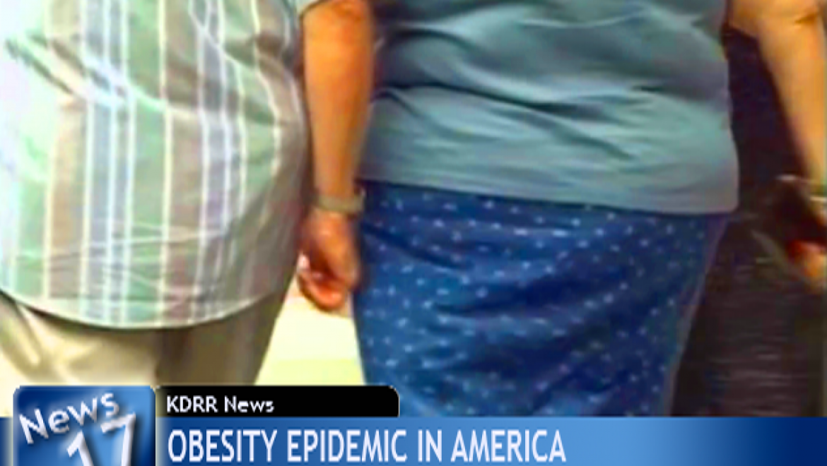 Couple recognizes selves in news footage on obesity