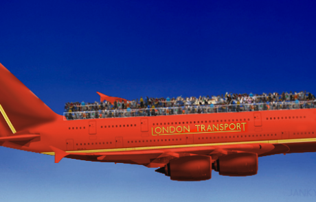 London Transport launches first open-top airliner tour