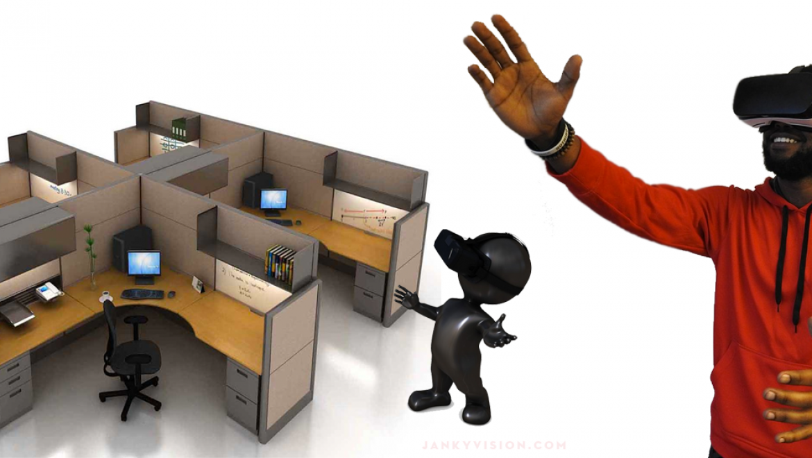 New Virtual Reality Office allows you to work at a cubicle from anywhere