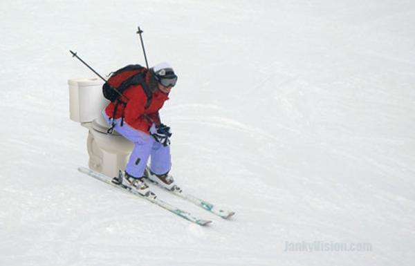 PistePot allows skiers to take a mountain pass
