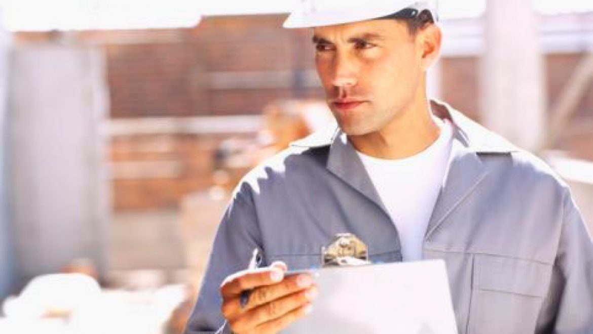 Clean guy with clipboard voted most useless at construction site