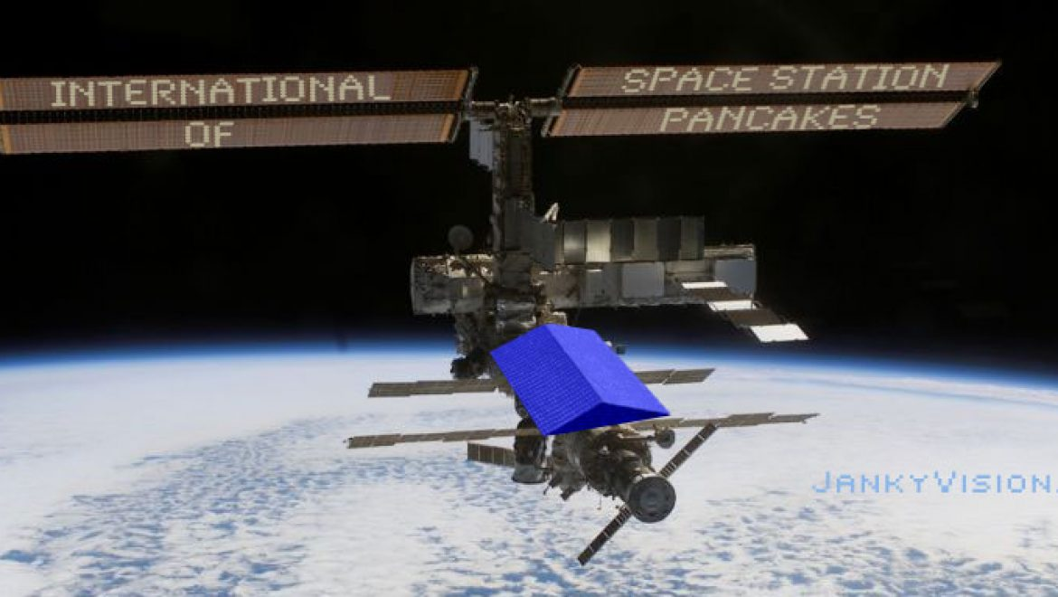 International Space Station of Pancakes to open soon