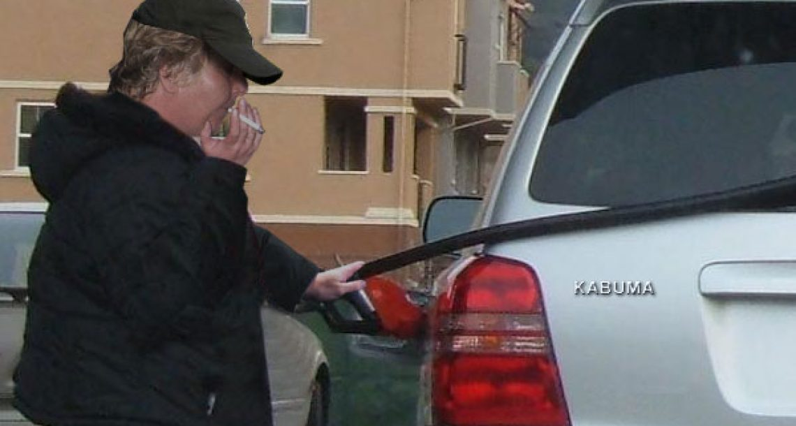Relax, man smoking at gas pump does this all the time