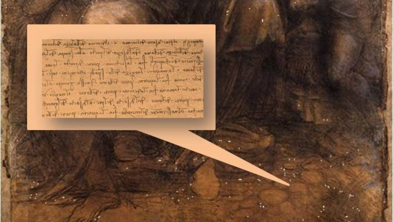 Da Vinci painting reveals hidden grocery list