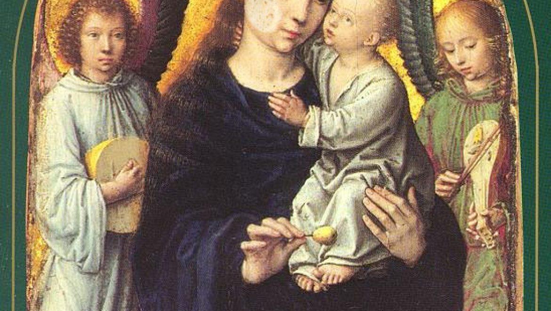 Tortilla appears on portrait of Virgin Mary