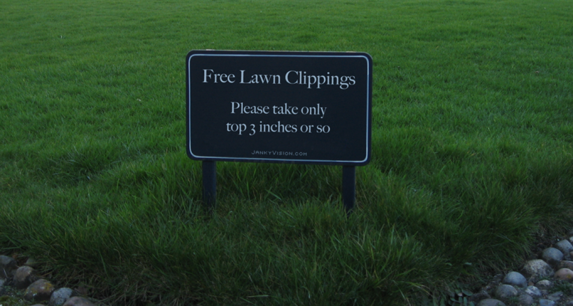 Free Lawn Clippings