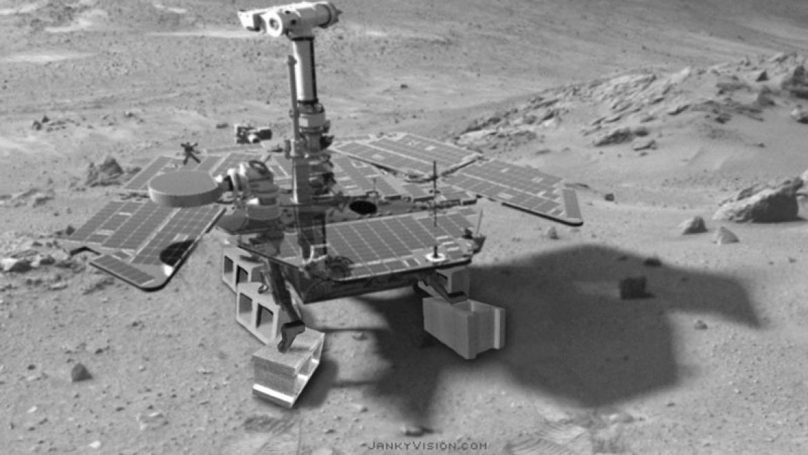 UPDATE: Mars Rover stripped in bad section of crater