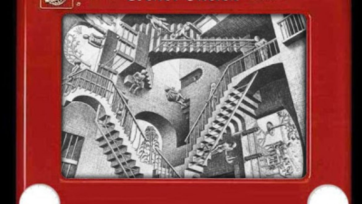 Escher-Sketch lets you attempt the absurd and achieve the impossible