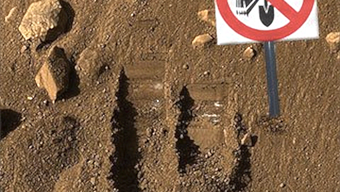 Mars Rover electrocuted digging into power main