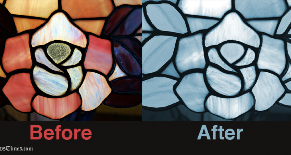 Stained Glass Cleaned Up